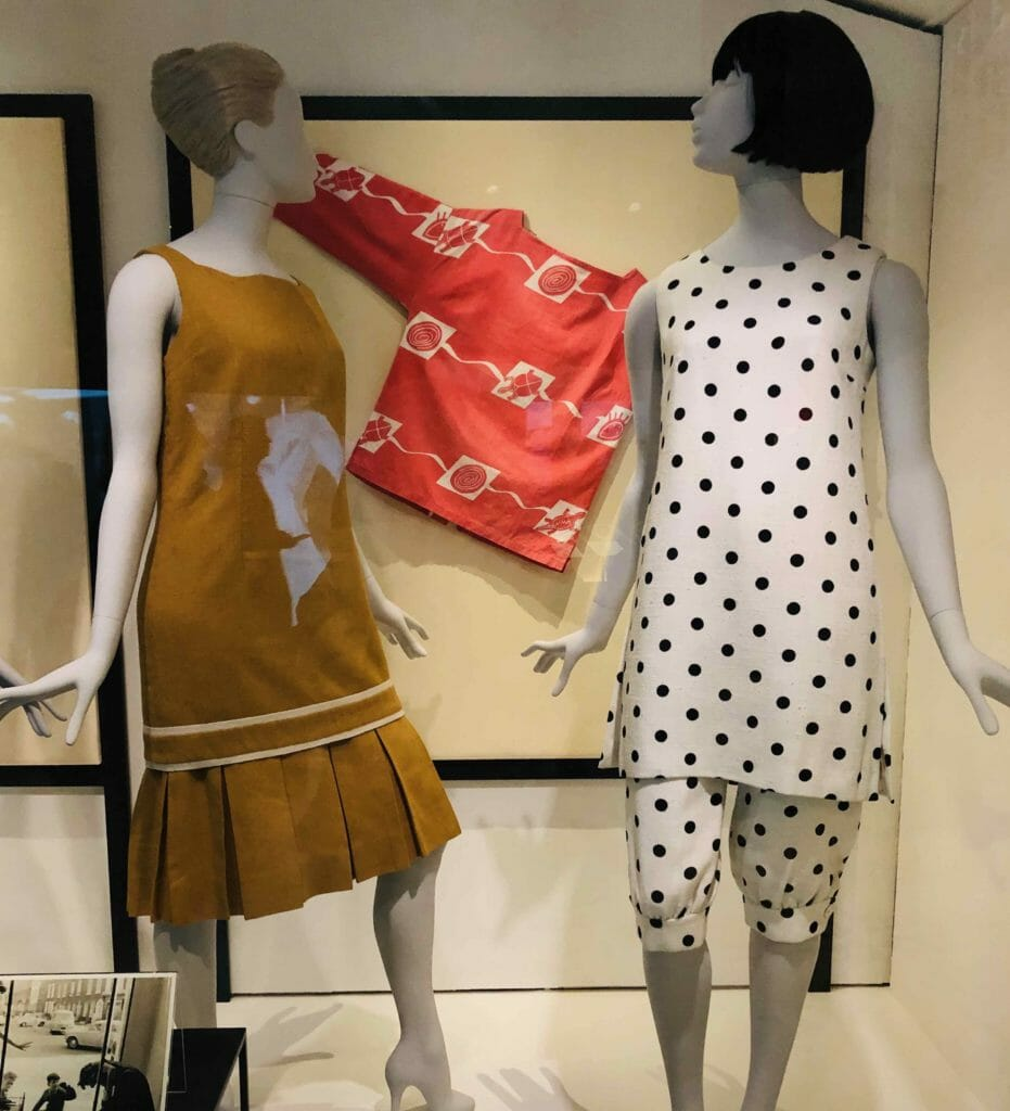 1950's Mary Quant designs from her first store Bazaar in the Kings Rd