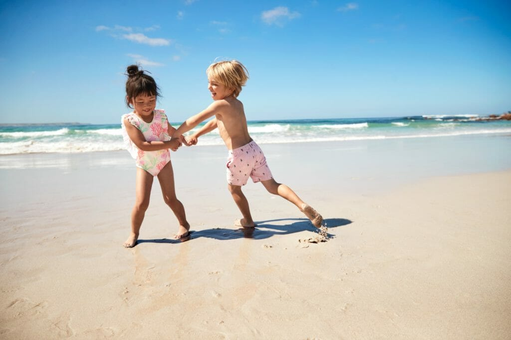Sustainable kids swimwear at Marks and Spencer