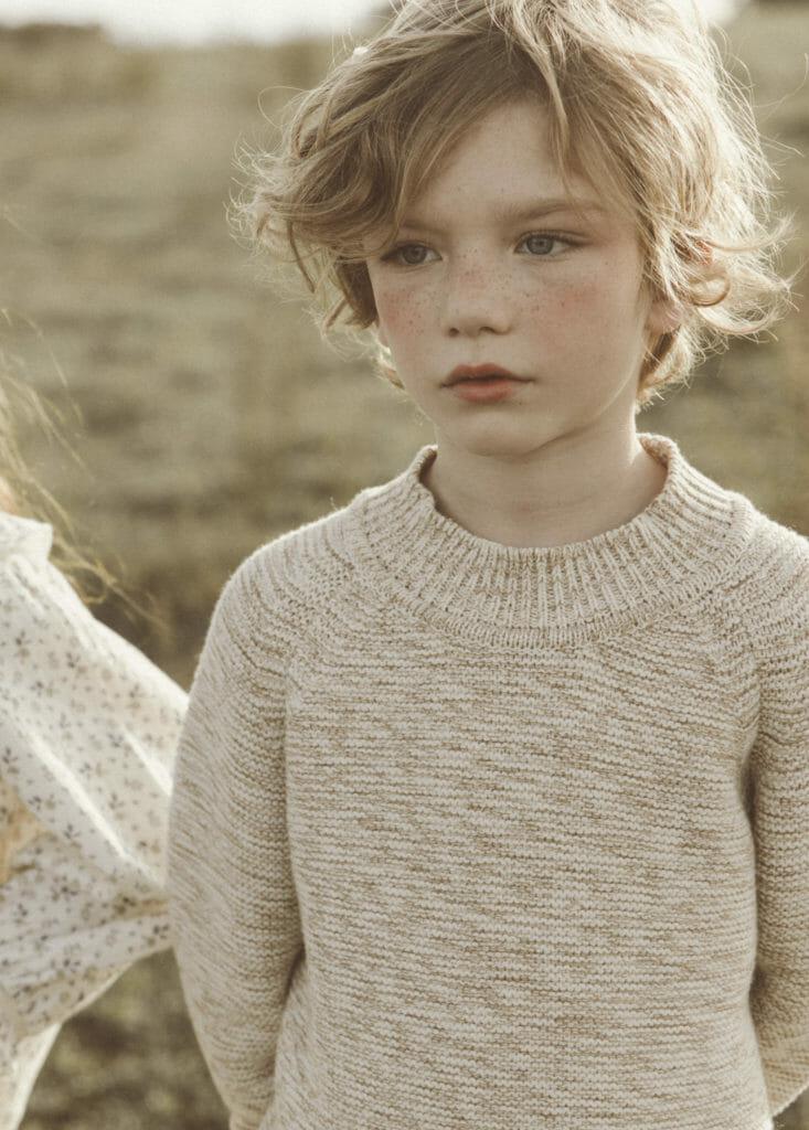 F/W 2019 sees heavier gauge knitwear for organic kidswear at Liilu
