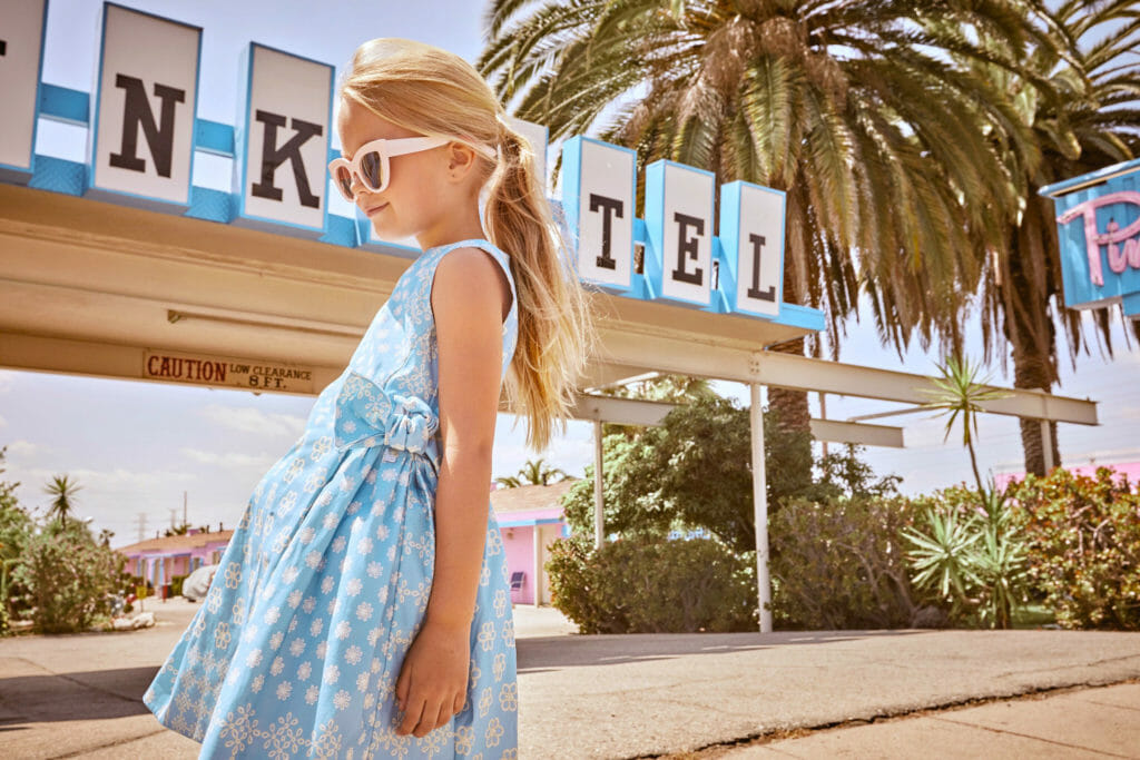 California Story, a new kids fashion editorial by Abi Campbell