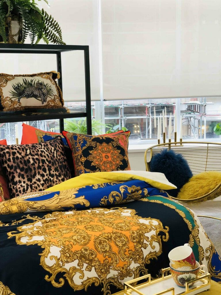 River Island's lush bedding coming for FW19