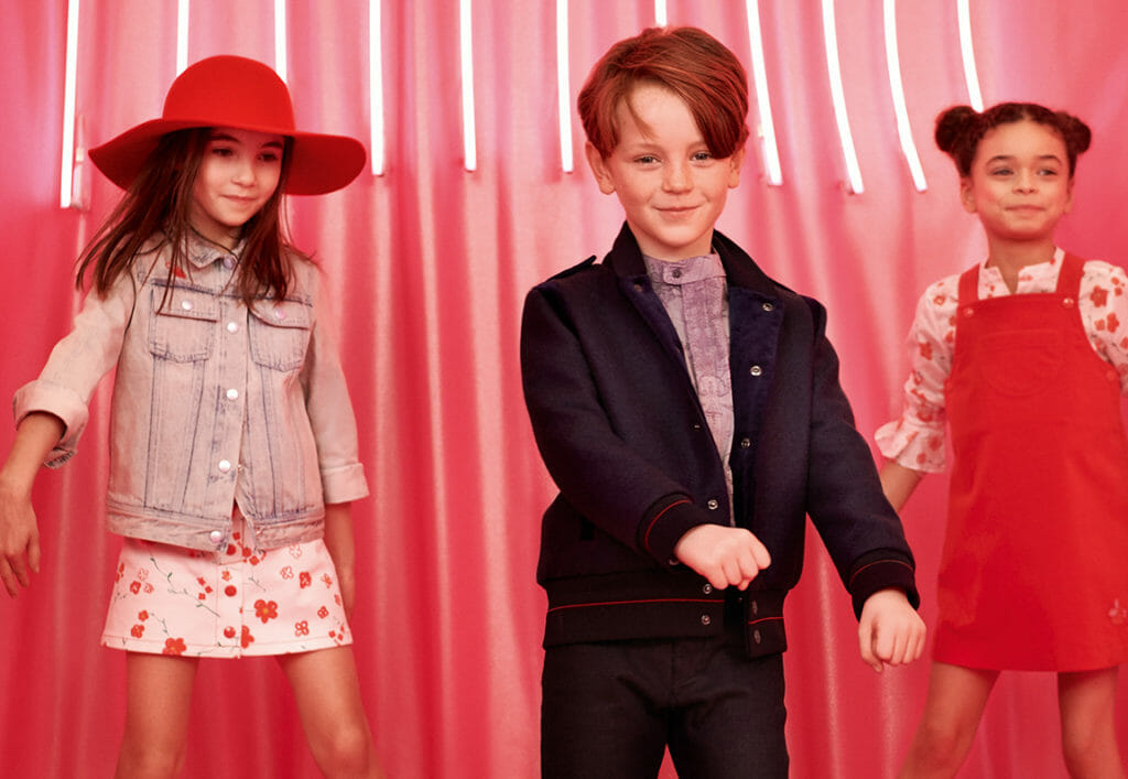Playtime kids fashion from Dior kids fashion for fall 2019