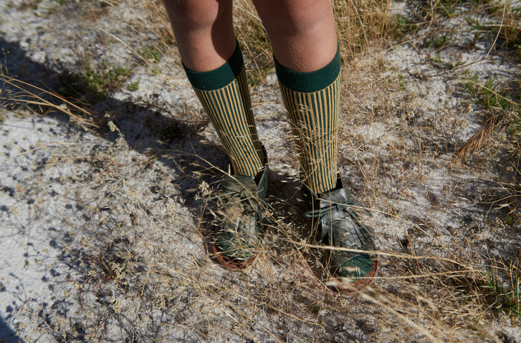 Socks by Tiny Cottons, walking shoes by Young Soles