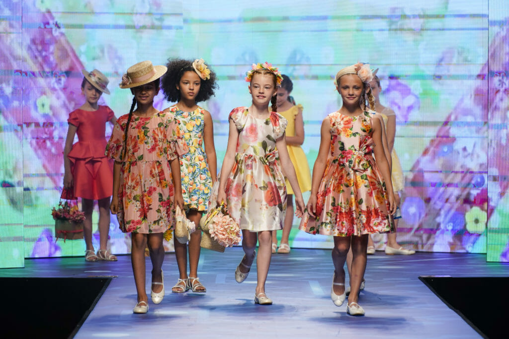 Flowerprint festival at Abel E Lula from Spain for summer 2020 kids fashion