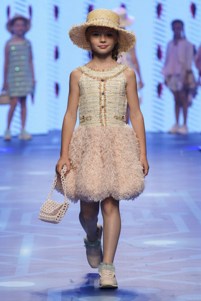 Tulle ragged skirt at Amaya for summer 2020 kids fashion