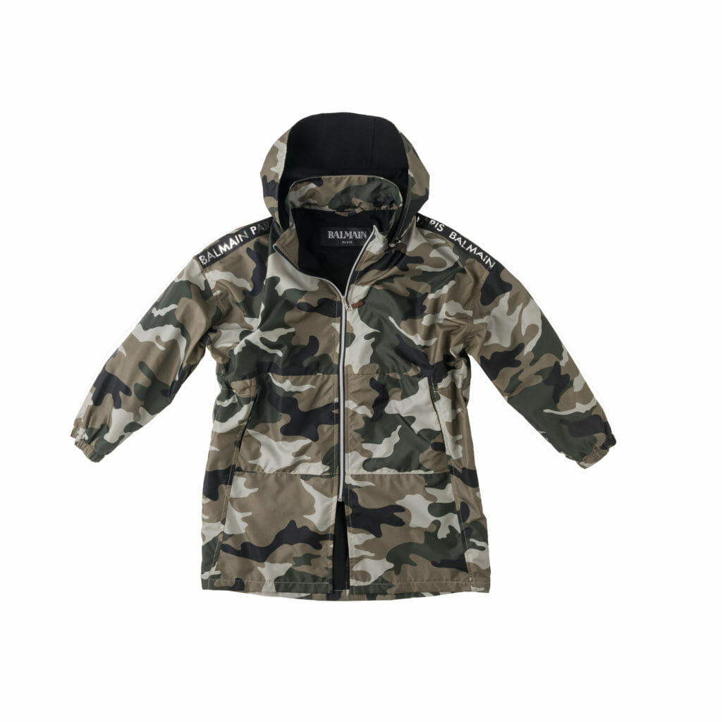 Supercool Balmain parka jacket for spring 2020 boyswear