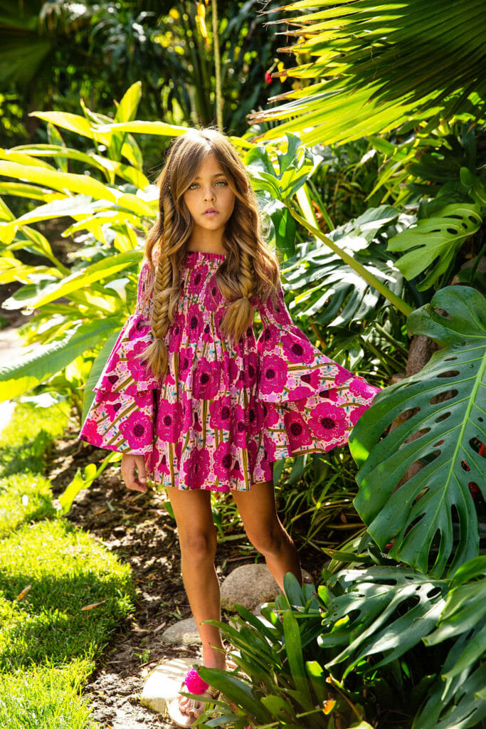 The bold prints for kids fashion by Rebel Republic for SS20 are inspired by a visit to Havana
