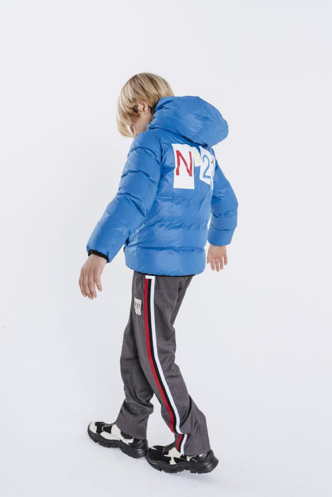Urban skate style boyswear at N21 for Fall/winter 2019