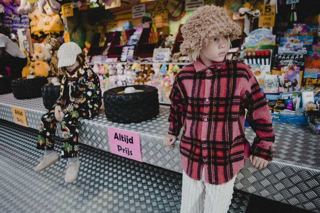 Chunky textures for winter 2019 at BO(Y)SMANS for boys and girls that like boys style