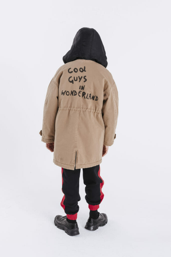 Urban looks for boys at N21 in the Harrods pop-up store till October 2019