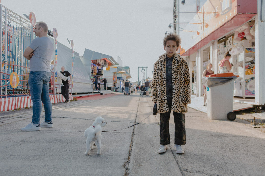 Adorable faux leopard jacket for boys that will be stolen by girls no doubt at BO(Y)SMANS for autumn 2019