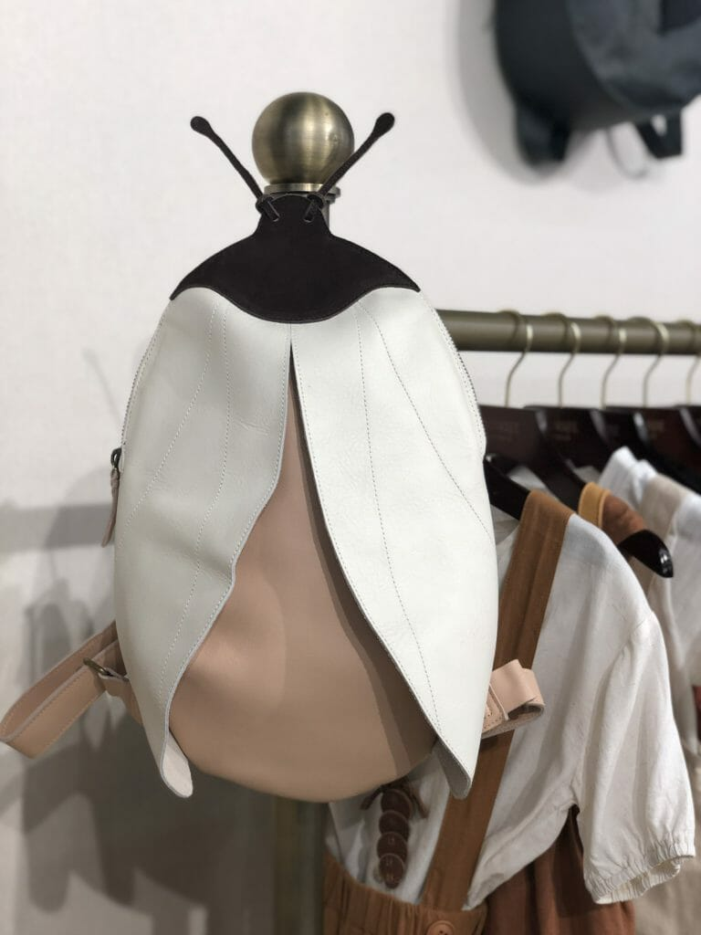 The best bug backpack in leather by beautiful brand Donsje Amsterdam