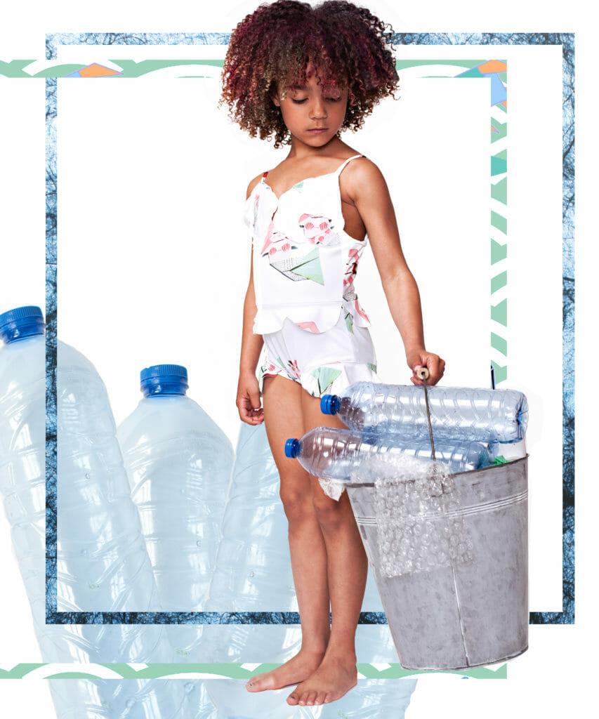 UPV swimwear by EFVVA for summer 2020 kids fashion