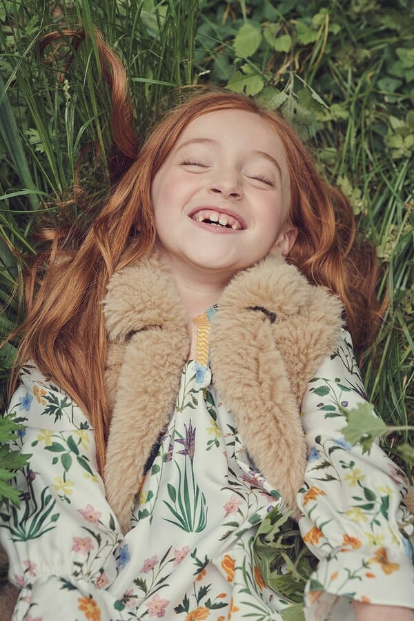 New look Oscar De La Renta kids fashion for fall 2019