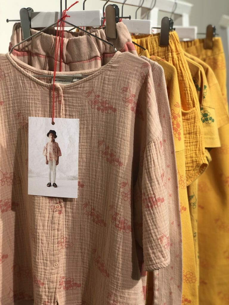 Super soft textiles and faded prints from new Spanish label to the CIFF fair The Campamento