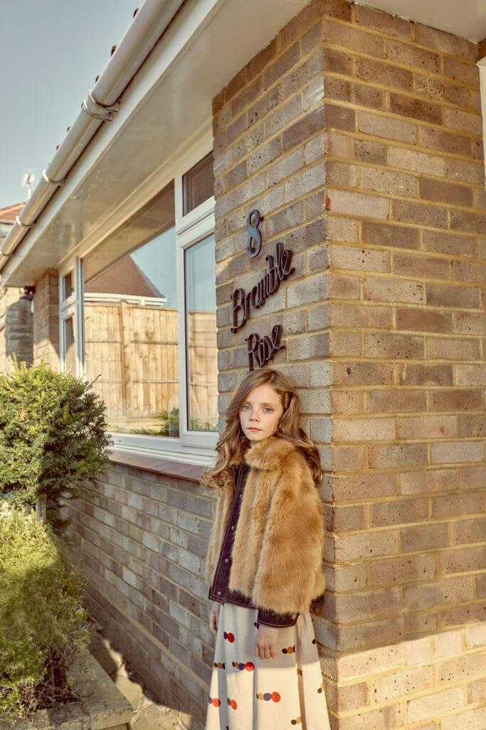 Suburban chic kidswear for winter 2019