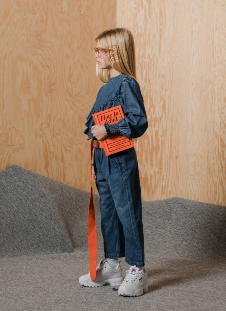 The ever cool jumpsuit in denim for winter 2019 girls fashion at Finger in the Nose