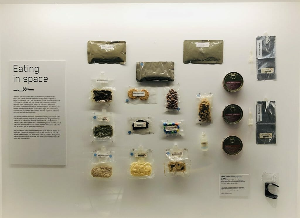 Space Food, the ritual of meals is considered very important for wellbeing in Space