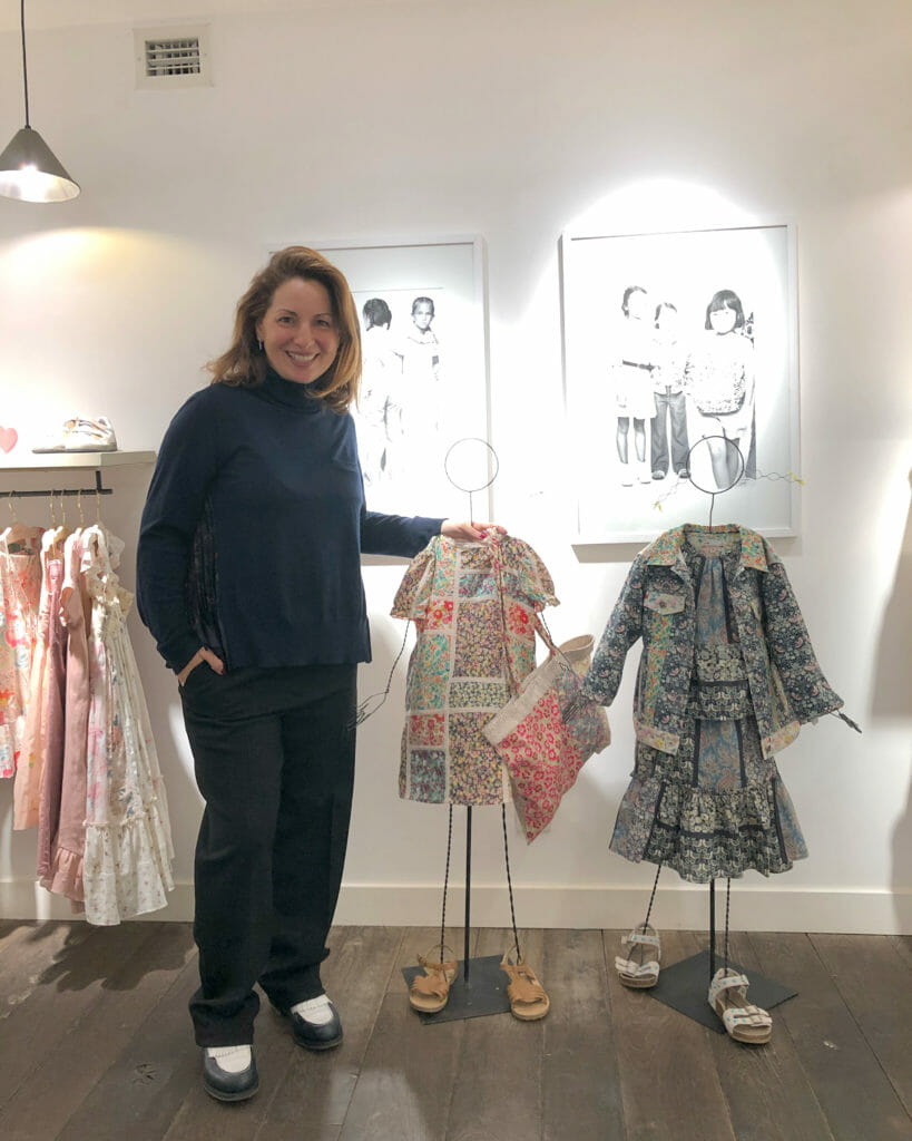 New Creative Director of Bonpoint Anne Valerie Hash shows off the Upcycled kids fashion collection