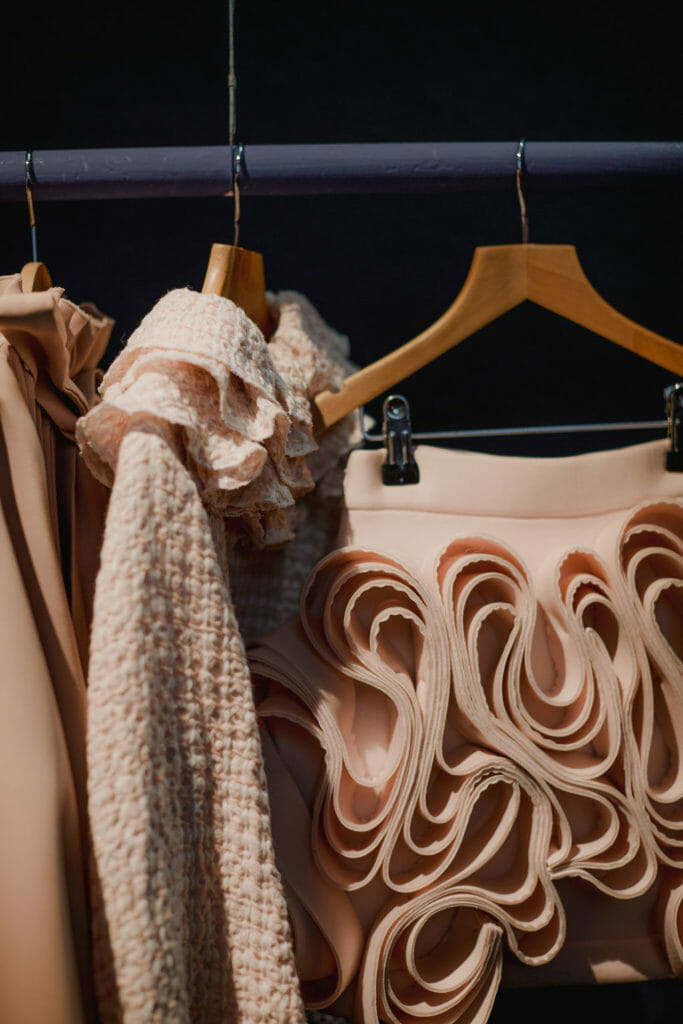 Pitti Bimbo covers all kidswear from cutting edge design such as Nikolia seen here to denim sportswear