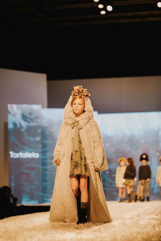 Tartaleta in the Kids Fashion from Spain catwalk at Pitti Bimbo kids show for winter 2019