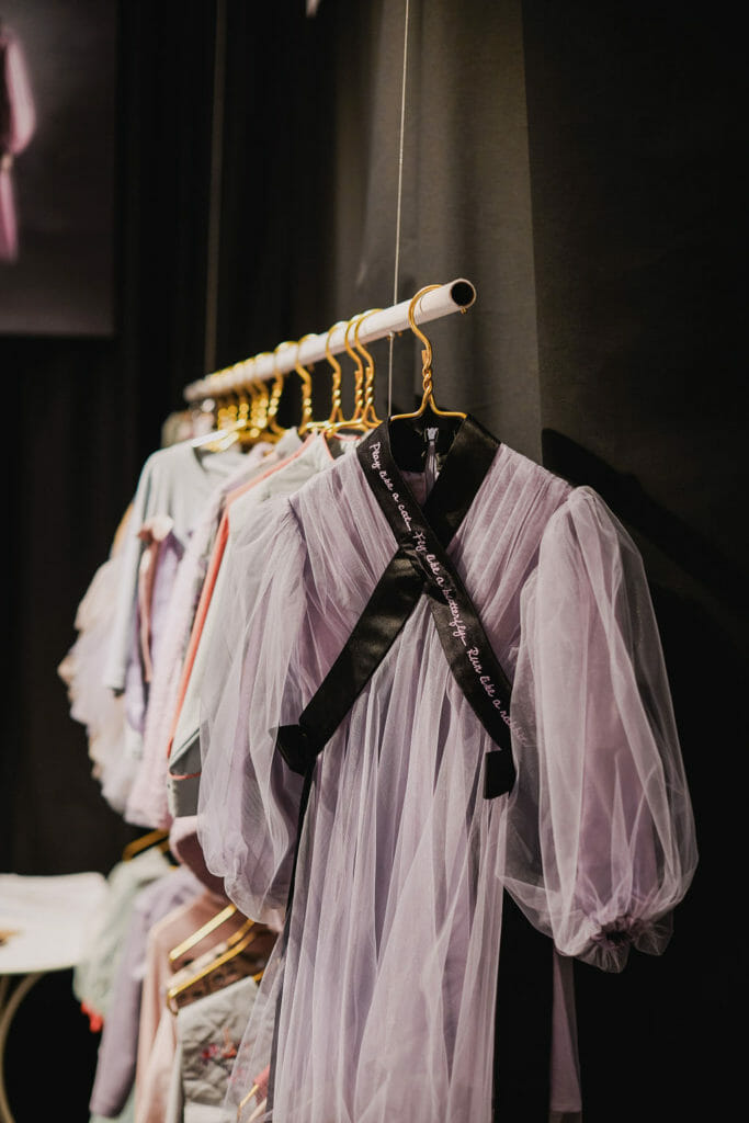 Raspberry Plum beautiful tulle dresses at Pitti Bimbo 2019