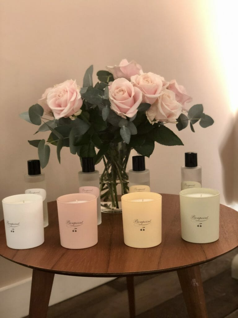 Bonpoint also have a collection of delicate candles and cosmetics for Mama and baby