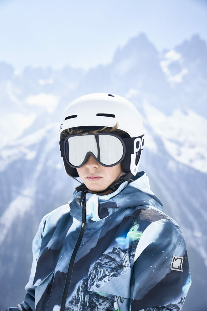 Girls and boys share unisex prints at Molo Skiwear for winter 2019/20