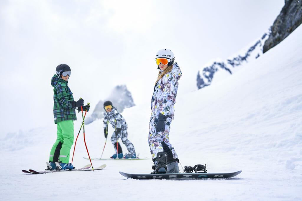 Superb kids ski fashion by Danish label Molo for winter 2019