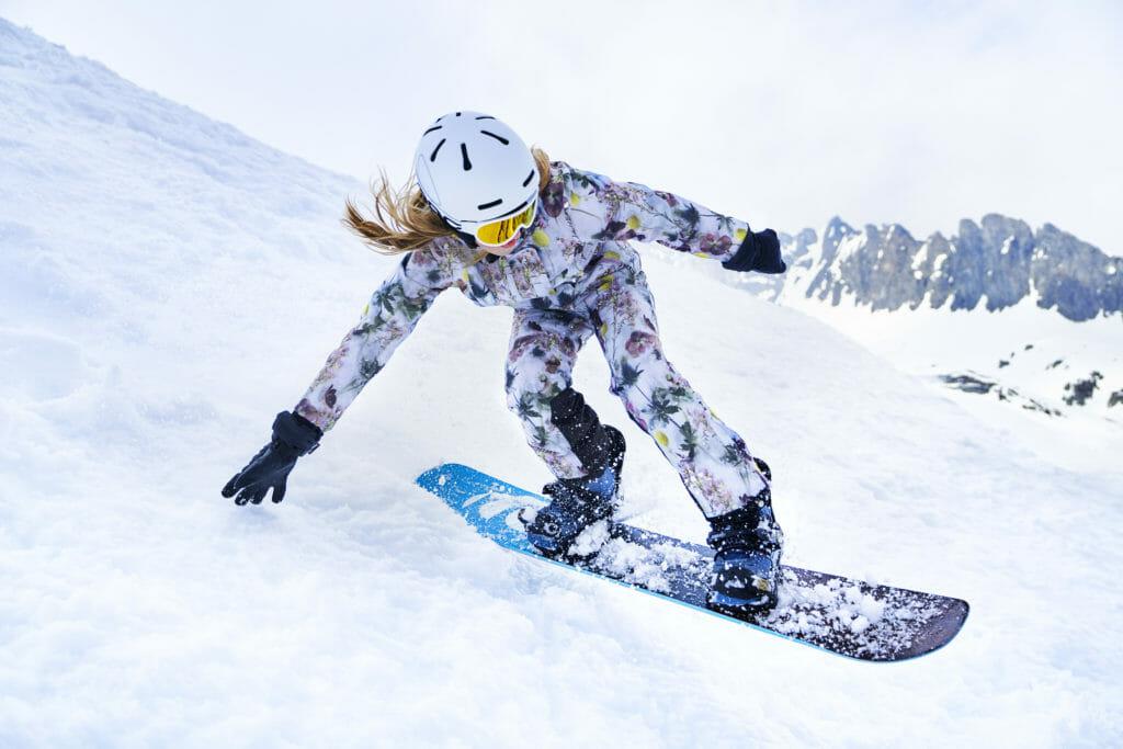 Girls floral option at Molo Winter 2019 ski kids fashion