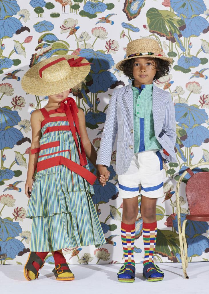 Stunning girls dress and chic boyswear at Tia Cibani for summer 2020