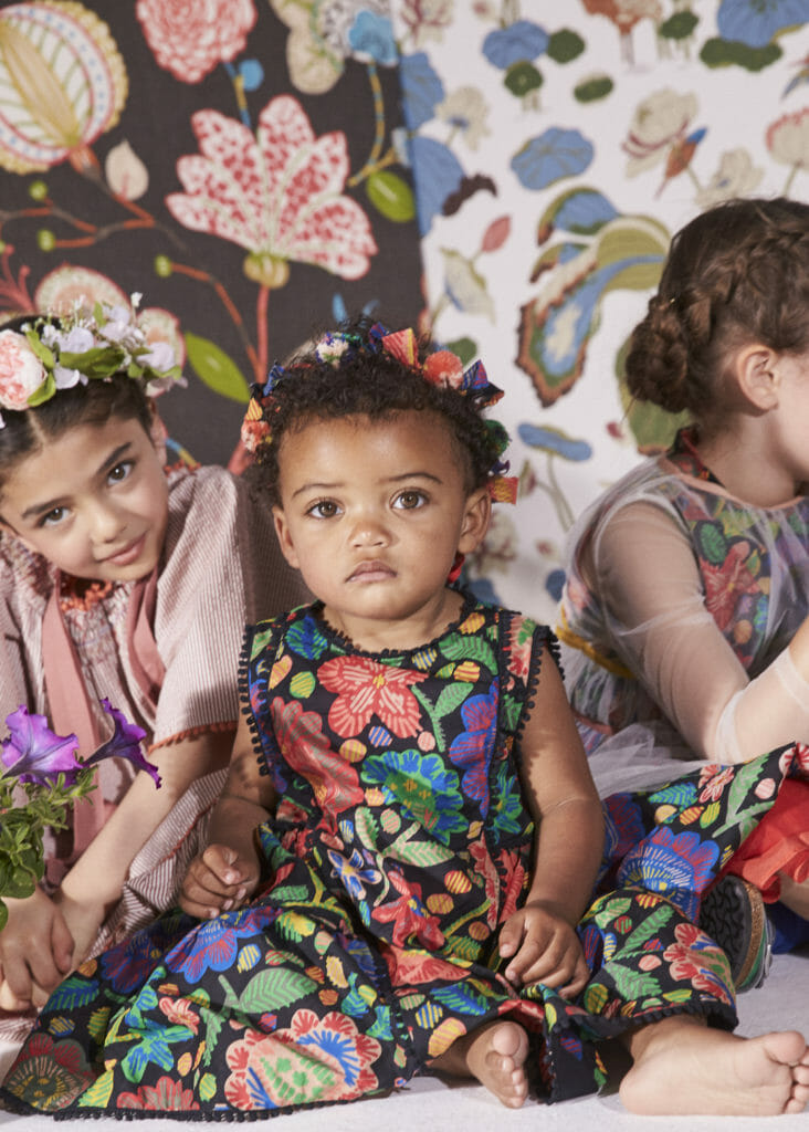Babies are also dressed by Tia Cibani for summer 2020 junior fashion