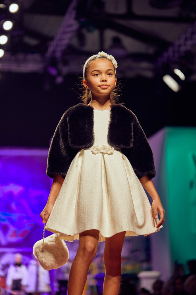 Classic style at Abel & Lula at the Children' fashion from Spain catwalk at Pitti Bimbo 90