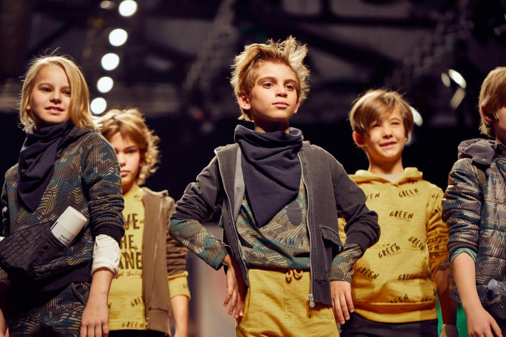 The cool boy gang at Boboli catwalk fashion for winter 2020 kidswear