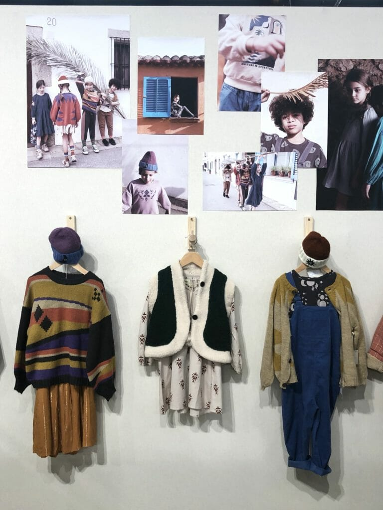 New York label Wander & Wonder show the subdued colour and relaxed shape trends of kids fashion in Paris for FW2020