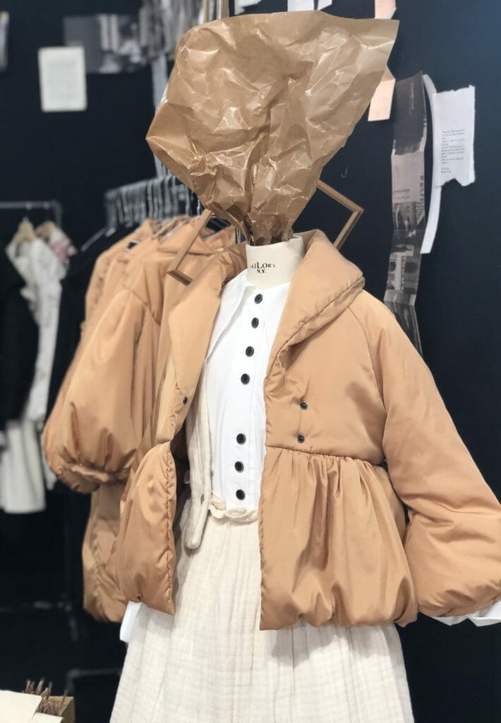 Facing a New York winter for the first time Barcelona born designer Cristina from Little Creative Factory has a new selection of padded coats and jackets for FW2020