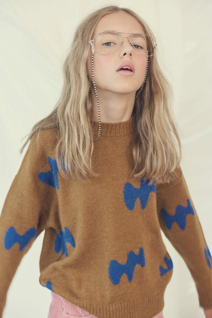 Kids fashion photography for Hooligans December issue by Franck Malthiery