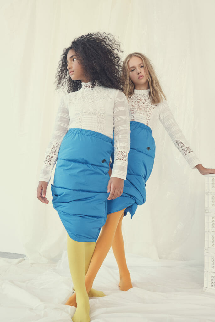 Cool colour kids shoot styled by Jill Rothstein for Hooligans magazine