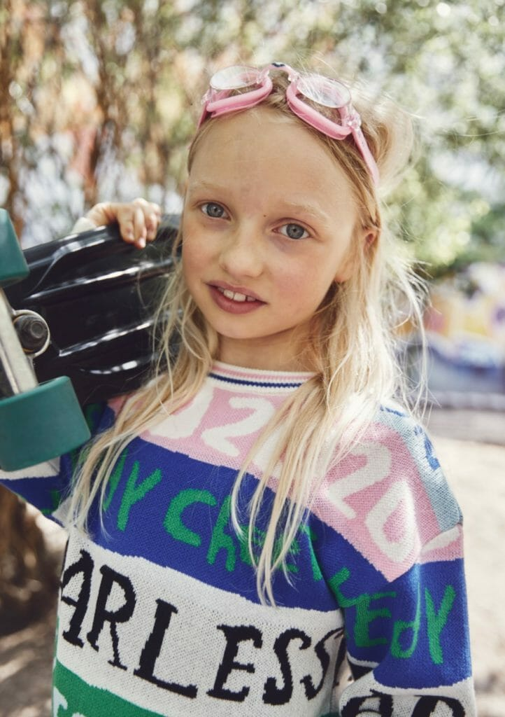 This 2020 sweater is a particular favourite from Noe & Zoe kids fashion