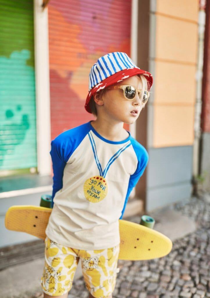 New season kids shoots start with Noe & Zoe off the blocks boyswear