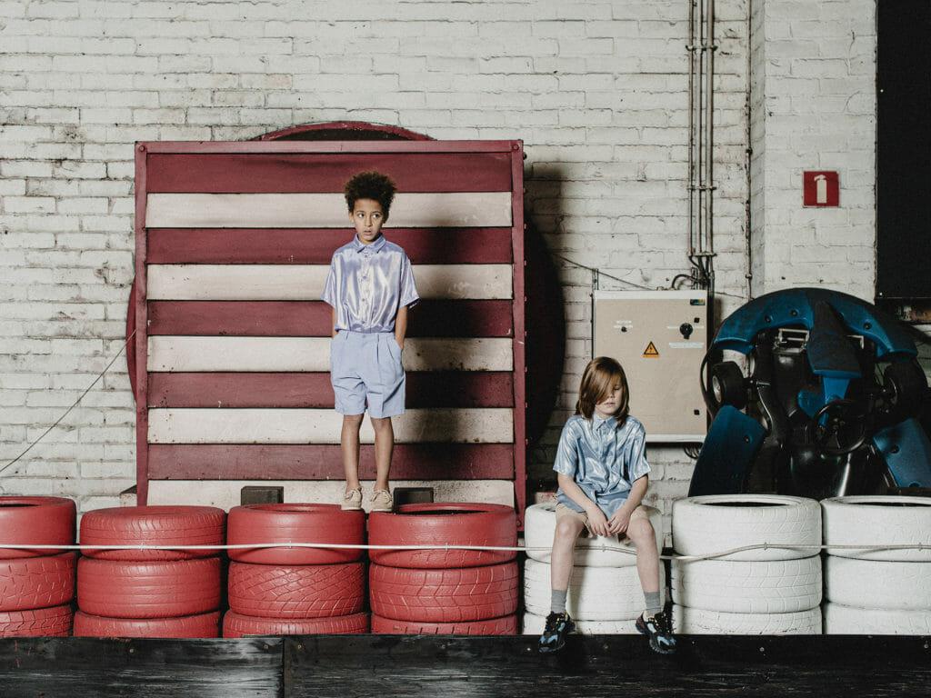 Slick shiny shirts at Boysmans for summer 2020