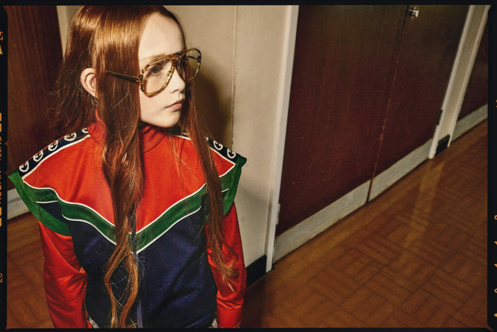 Cool sports nerd look by Abi Campbell for South Korea