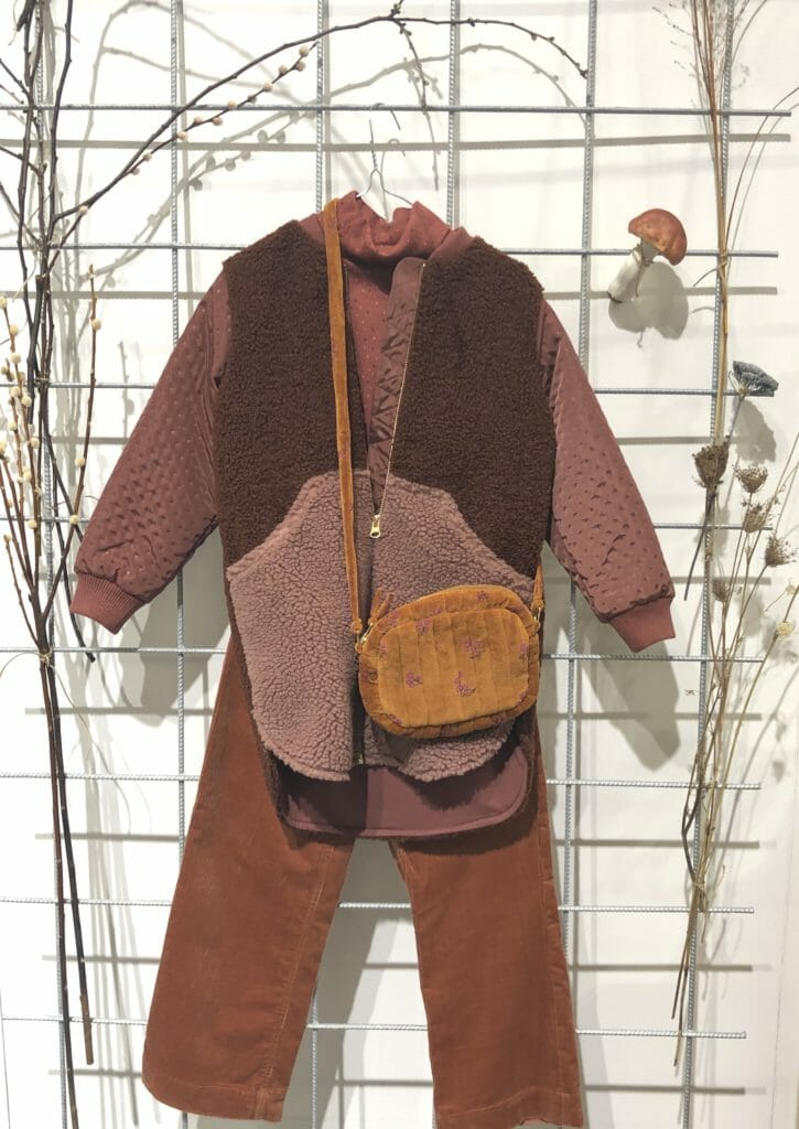Textures at Soft Gallery with fleece, cord, velvet and quilting in autumnal colours