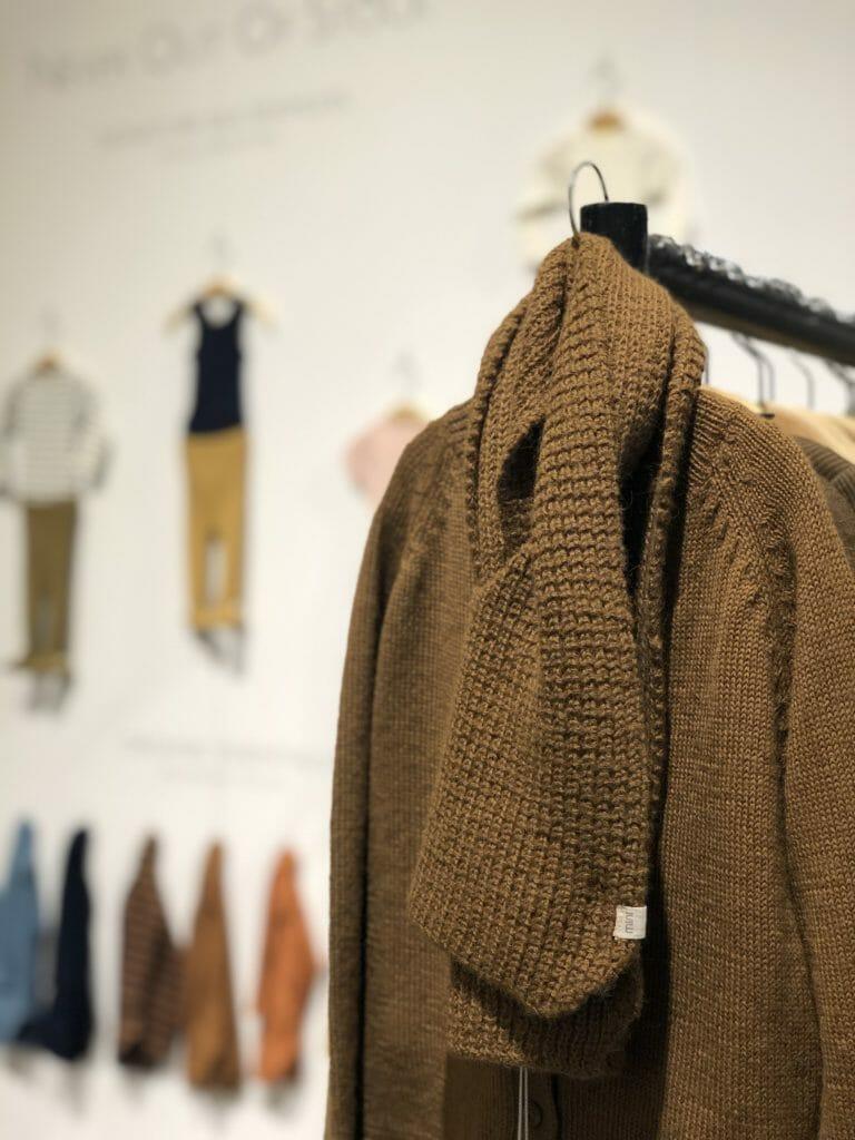 Beautiful Alpaca knits at sustainable brand Minimalisma for kids fashion FW2020