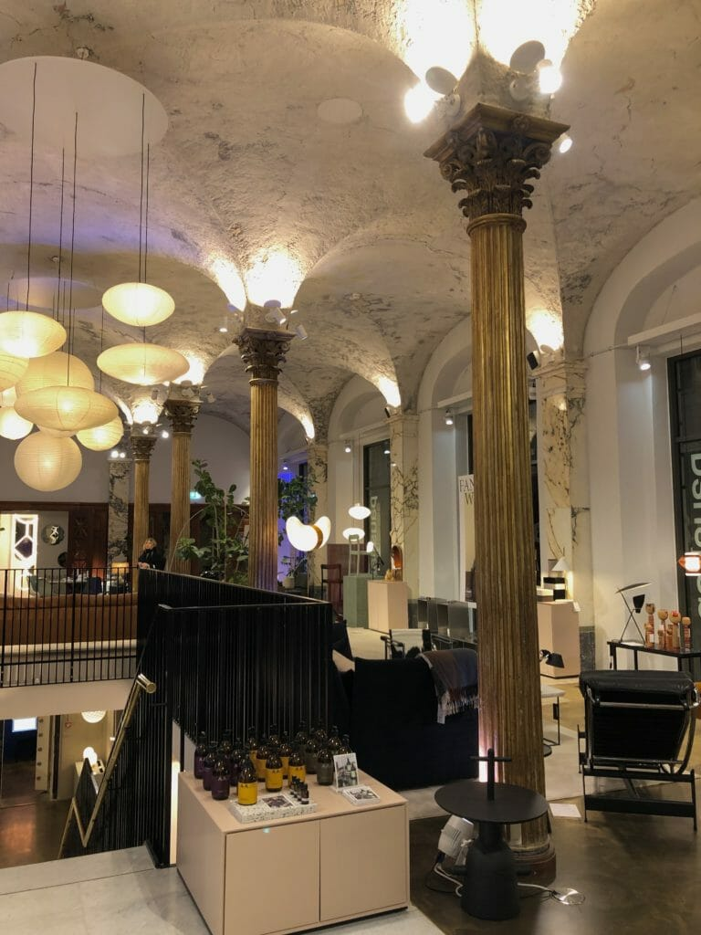 No visit to Copenhagen can be complete without a trip to beautiful new store Paustian based in an old bank with a display inside the old vault