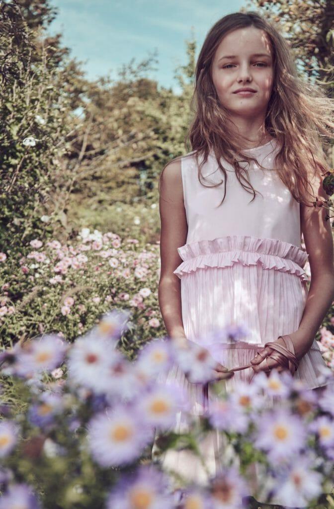 Secret garden fashion by Il Gufo for SS20 shot by Franck Malthiery