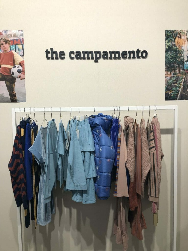 Spanish brand The Campamento at Playtime Paris for FW20 childrens fashion trade