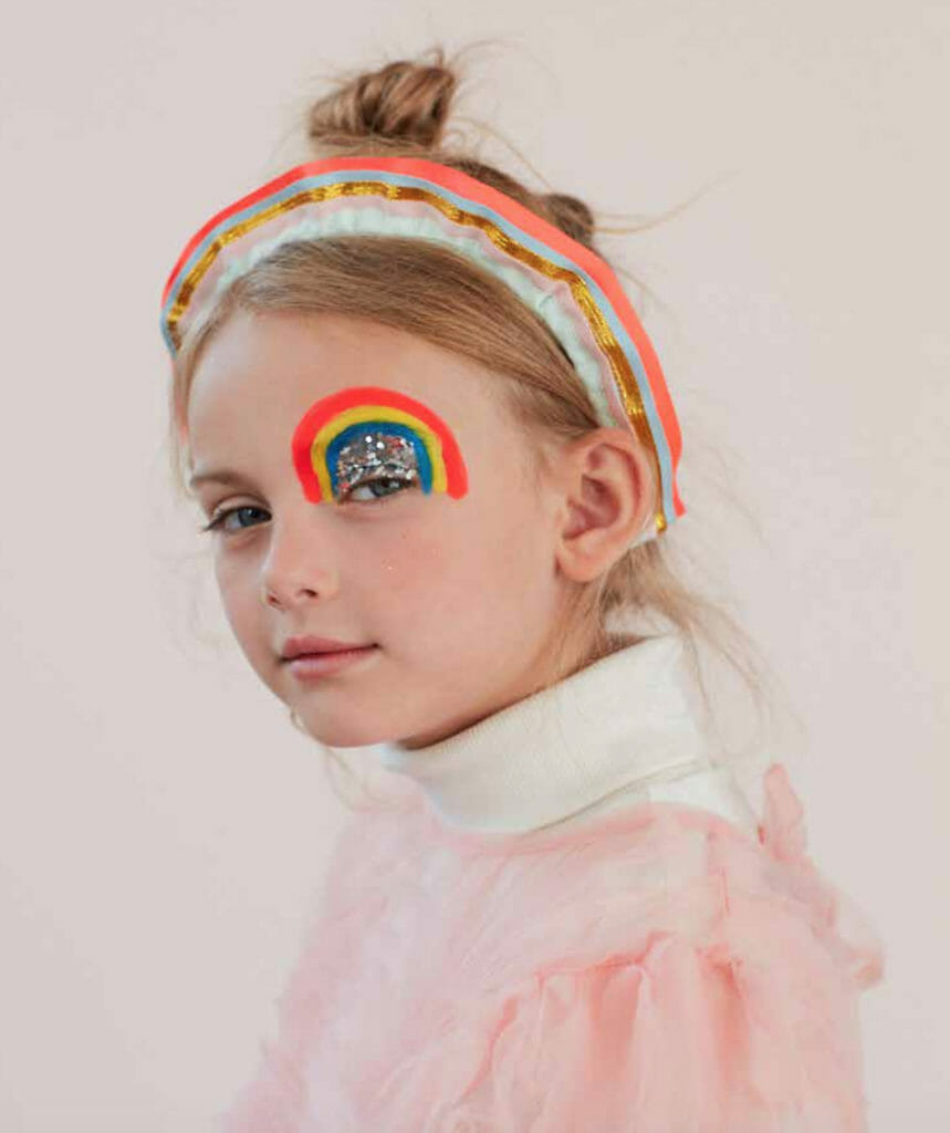 Known for their glitter and rainbow of colours new dress up outfits by Meri Meri for summer 2020