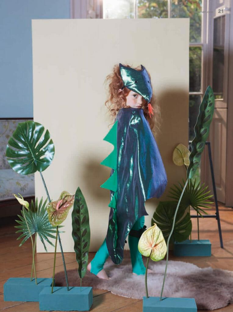 Glittery Dino dreams at Meri Meri kids fancy dress