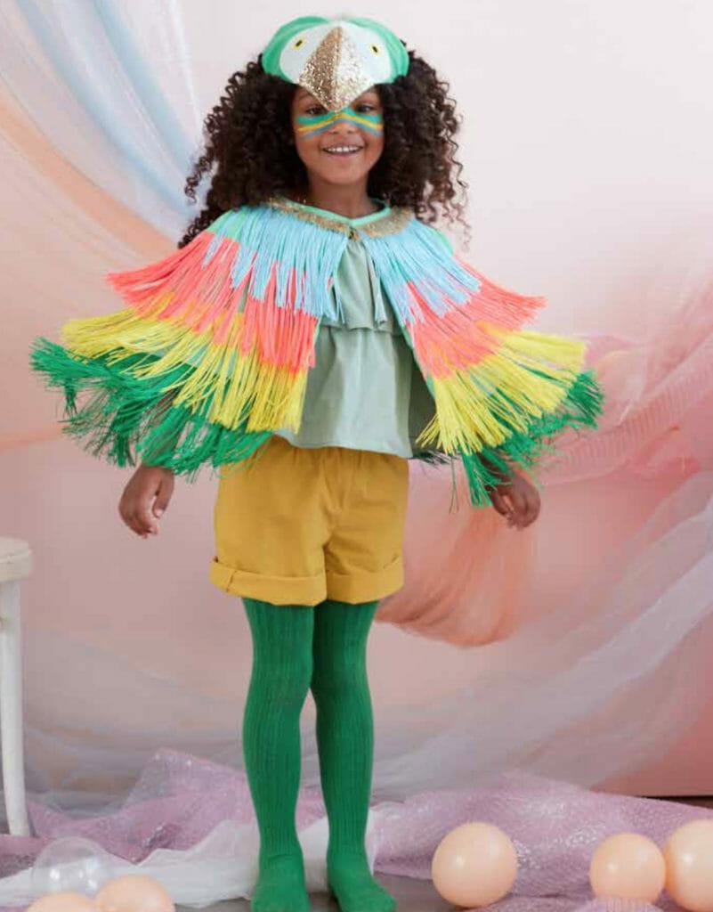 Tropical kids bird costume at Meri Meri for summer 2020